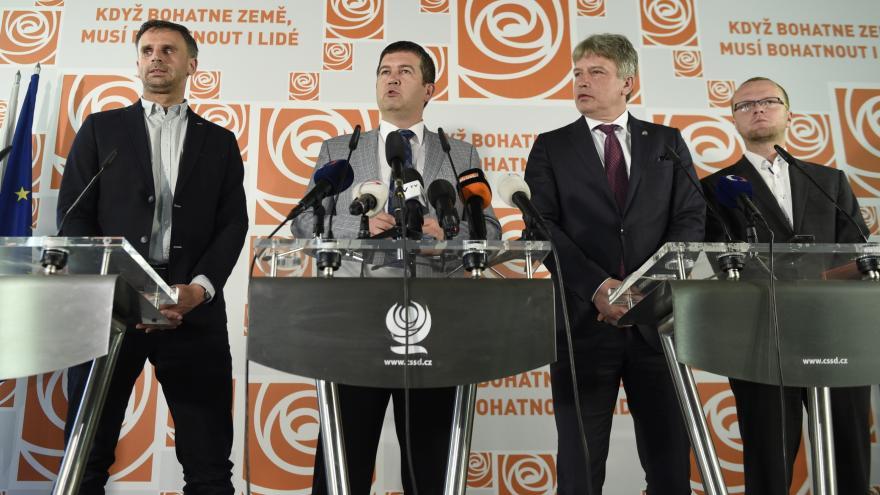 Video ČSSD souhlasí s obnovením rozhovorů o společné vládě s ANO