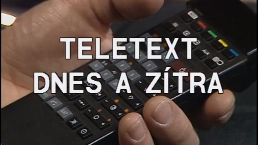 Video Teletext dnes a zítra