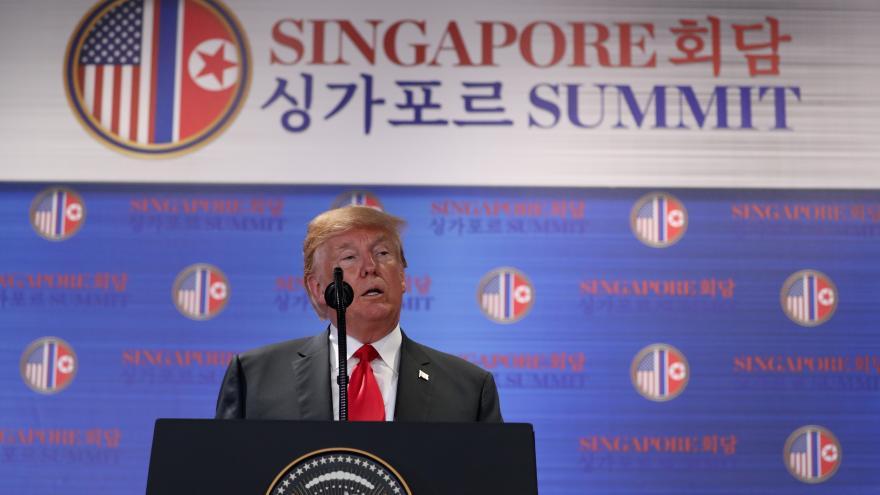 Video Trump k summitu USA a KLDR