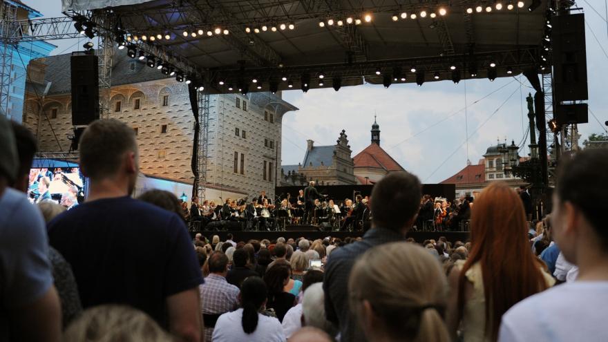 Video Česká filharmonie – open air 2018