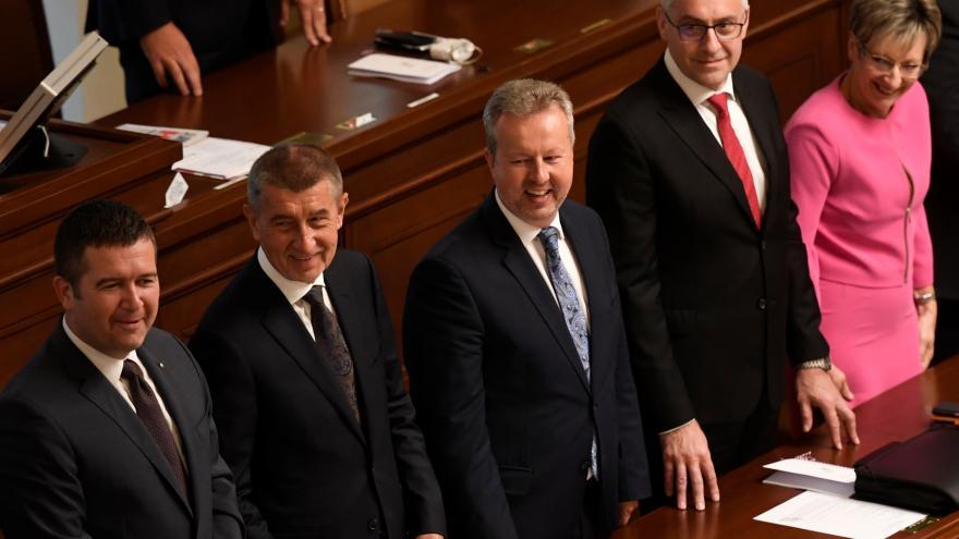 Video Babišova druhá vláda získala důvěru Poslanecké sněmovny