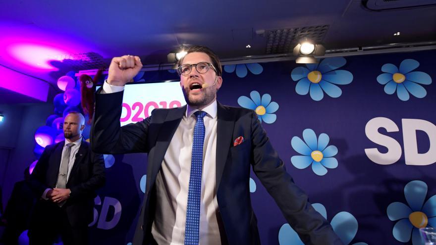 Video Ve švédských volbách posílili nacionalisté. S téměř 18 procenty se prohlásili za faktického vítěze voleb