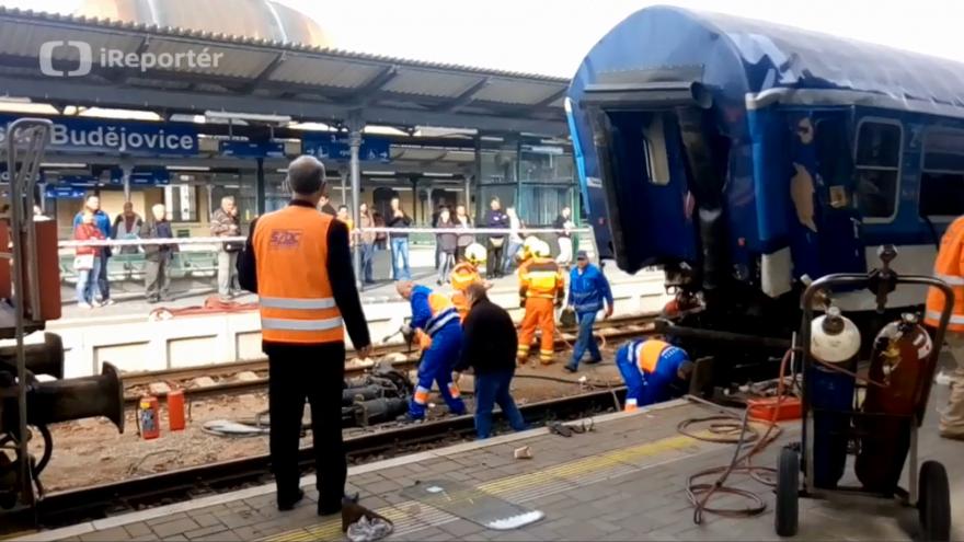 Video Nehoda v Českých Budějovicích