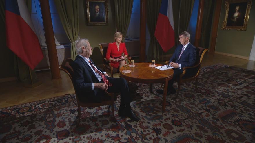 Video 100 let od vzniku Československé republiky - Rozhovor s prezidentem a premiérem