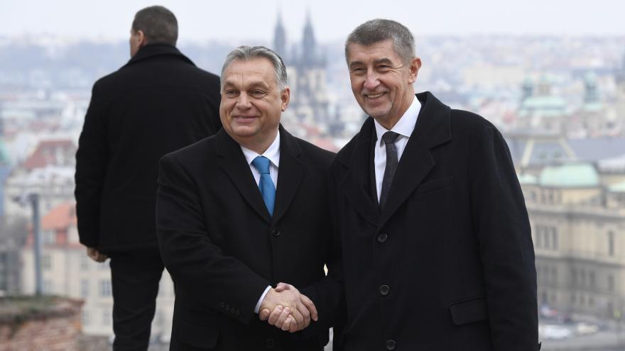 Video Tisková konference po jednání Andreje Babiše a Viktora Orbána
