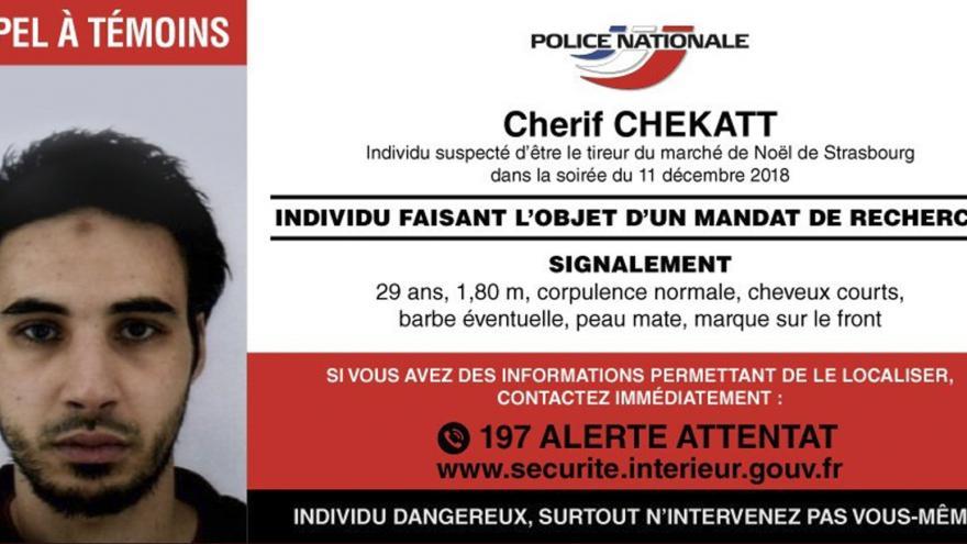 Video Brífink ministra vnitra po dopadení Chérifa Chekatta