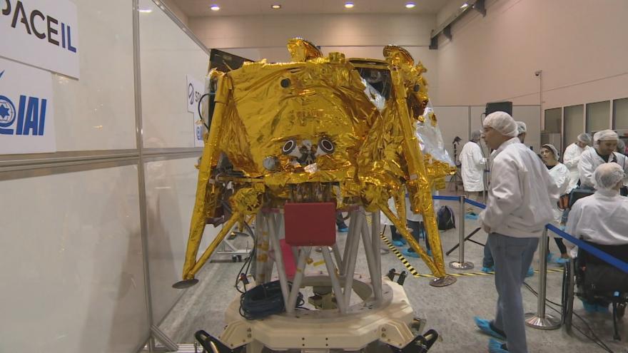 Video Události ČT: Izraelská sonda odstartovala na cestu k Měsíci
