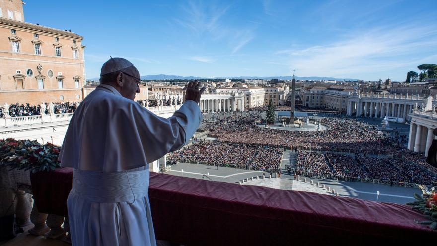 Video Události ČT:  Papež František pronesl poselství Urbi et orbi