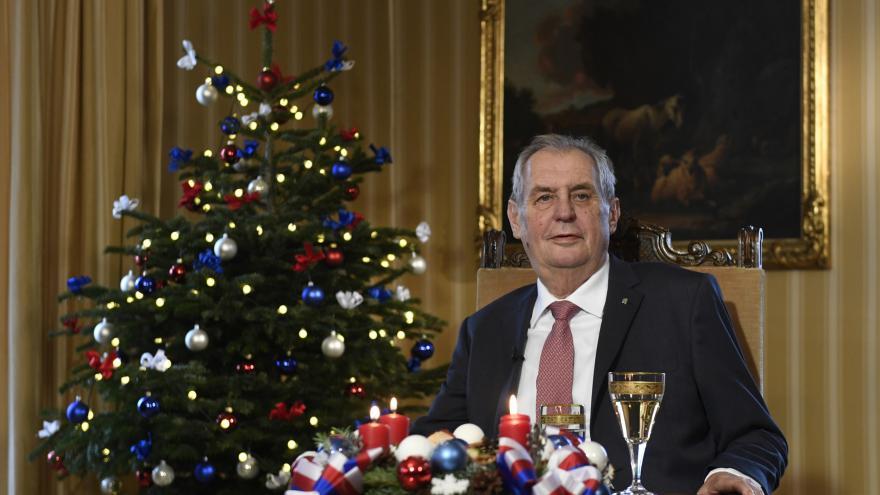 Video Vánoční poselství prezidenta republiky Miloše Zemana 2018