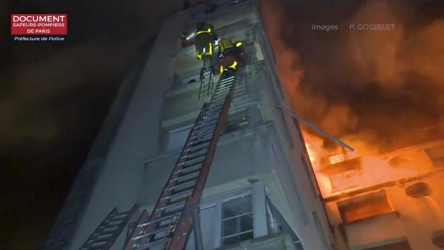 Video požár