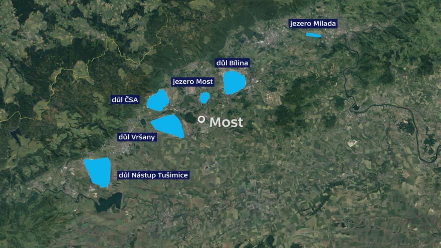 Video Události ČT: Uhelné lomy na severu zatopí voda