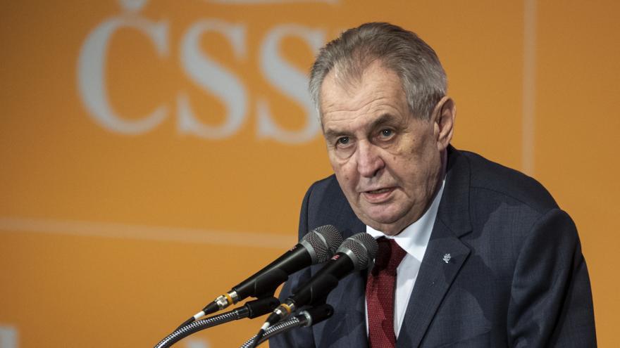 Video Projev prezidenta Miloše Zemana na sjezdu ČSSD