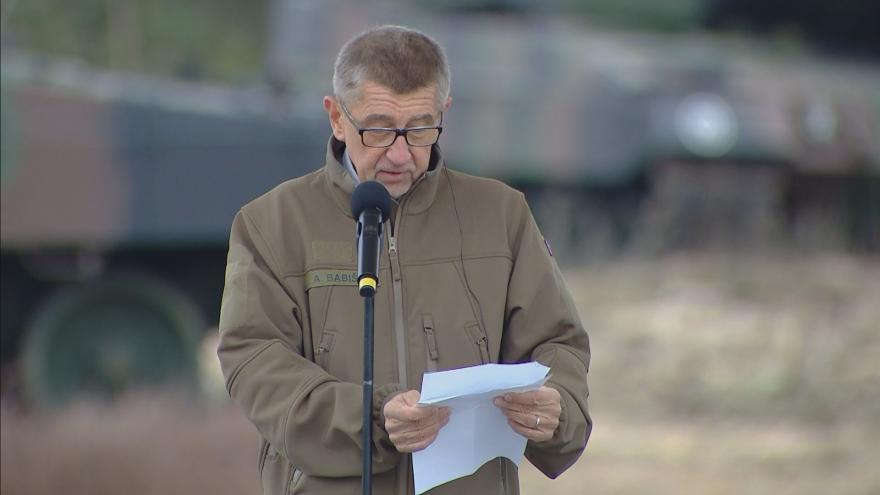 Video Babiš: Cestu do NATO jsme si museli odpracovat