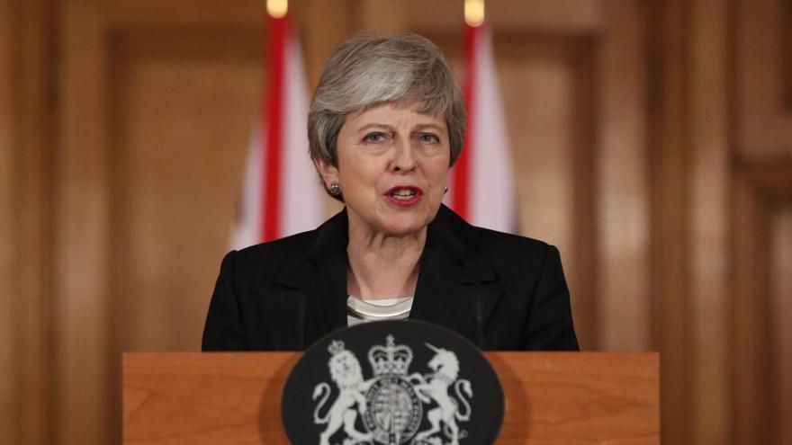 Video Vyjádření britské premiérky Mayové k situaci kolem brexitu
