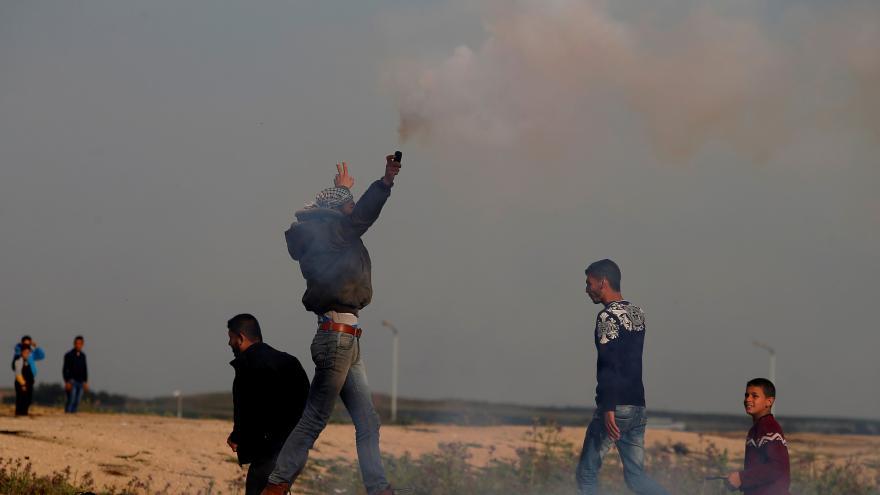 Video Rok palestinských protestů na hranici Pásma Gazy