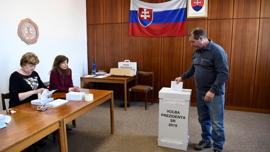 Video Slovensko volí prezidenta