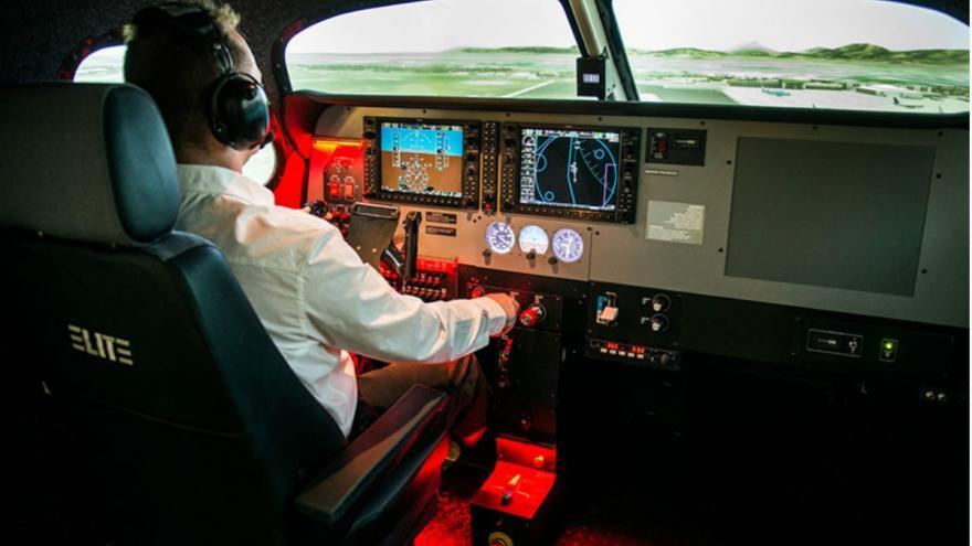 Video Simulátor letadla