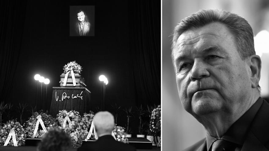 Video Mimořádné pořady ČT24 - Poslední rozloučení s Václavem Postráneckým