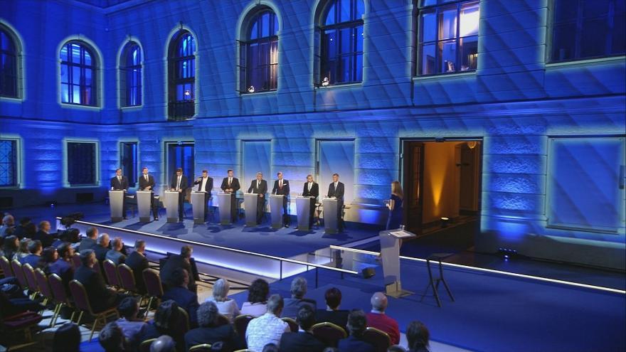 Video Mimořádné pořady ČT24 - Debata o vztahu národní a unijní politiky