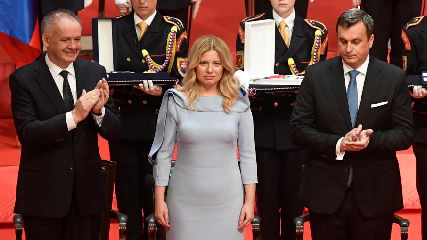 Video Mimořádné pořady ČT24 - Inaugurace slovenské prezidentky Zuzany Čaputové
