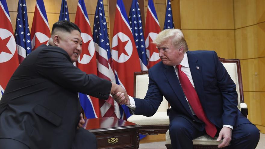 Video Setkání Kima s Trumpem