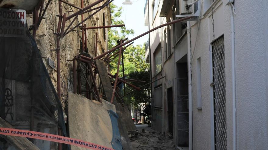 Video U Atén udeřilo silné zemětřesení