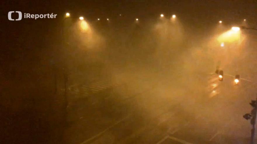 Video Noční bouřka nad Plzní