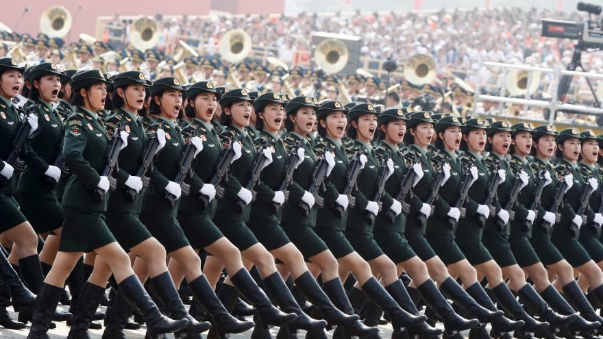 Video Zpravodajka ČT Šámalová: Je to hlavně oslava nové éry Si Ťin-pchinga