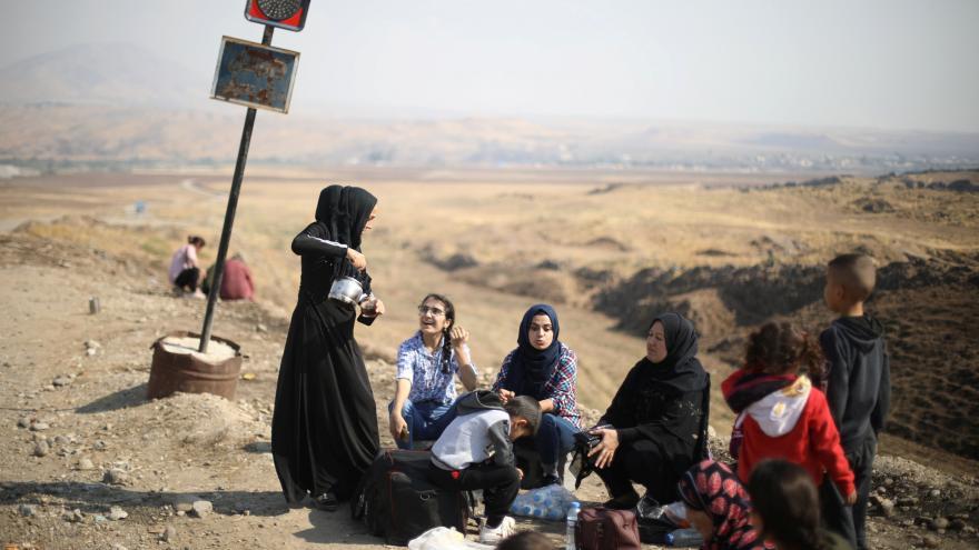 Video Události ČT: Damašek bude jednat s Kurdy o autonomii