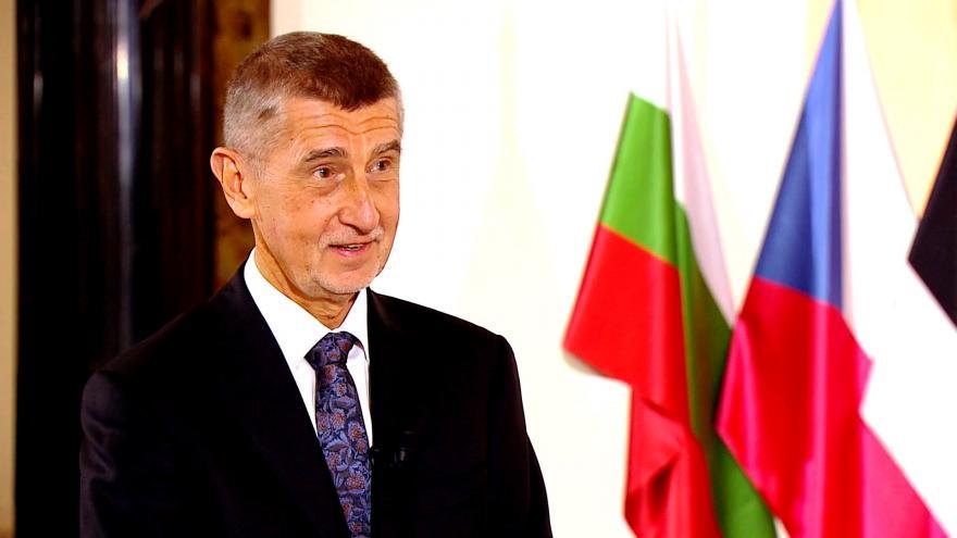 """Video Rozhovor s premiérem Andrejem Babišem: """"Ať někdo řekne, nechceme rozšiřovat EU a ať nehraje divadlo. Potom je protievropský."""""""