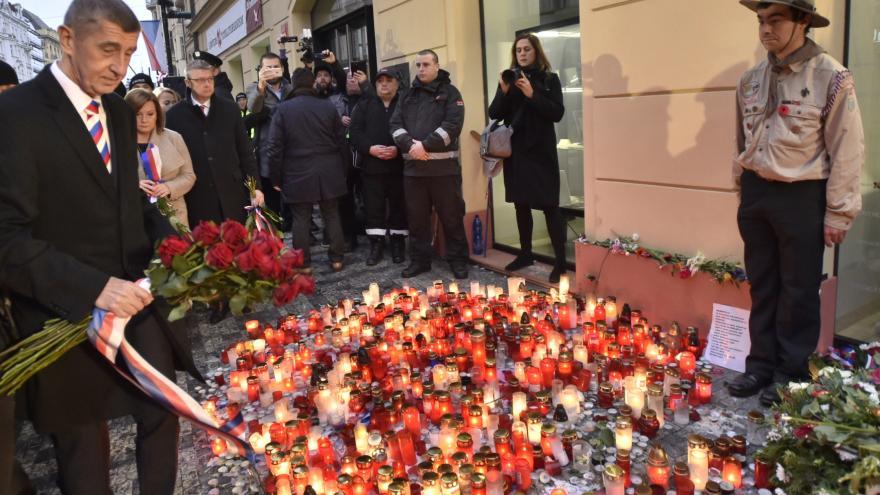 Video Premiér Andrej Babiš na Národní třídě