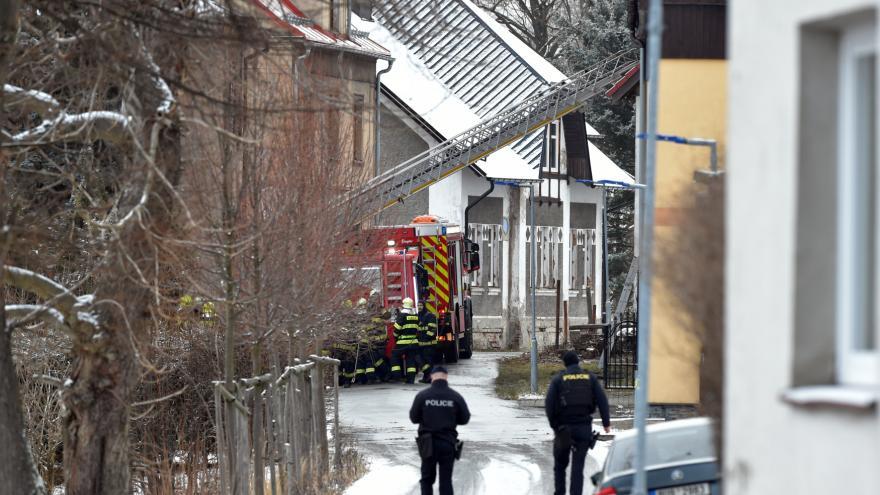Video Při požáru v domově pro hendikepované zahynulo osm lidí