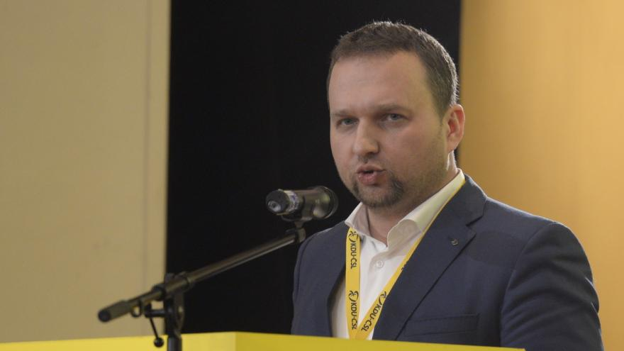 Video Nový předseda KDU-ČSL Marian Jurečka na tiskové konferenci