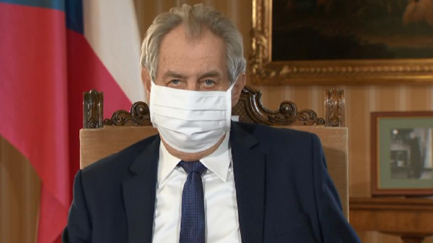 Video Mimořádné pořady ČT24 - Projev prezidenta republiky Miloše Zemana