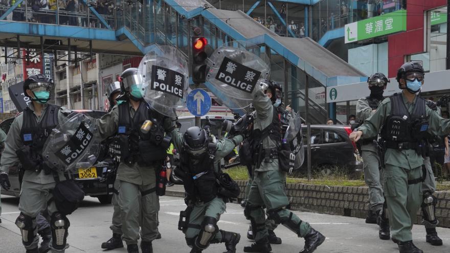 Video Události: Nepokoje v Hongkongu