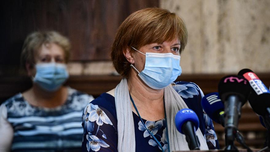 Video Brífink ministerstva zdravotnictví k představení mapy epidemiologického rizika v ČR