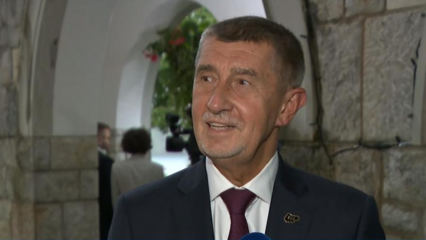 Video Premiér Babiš ve Slovinsku