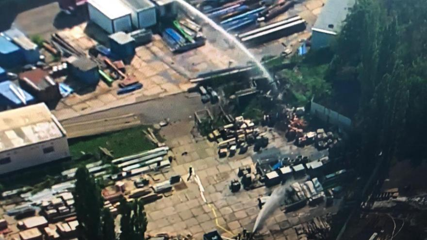 Video Vyjádření starostky Bíliny k výbuchu v muničním skladu