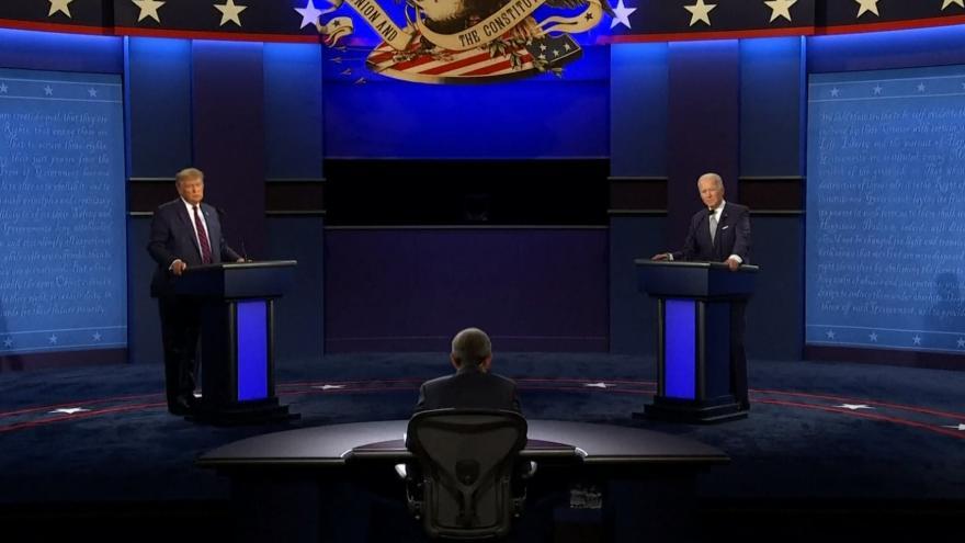 Video Donald Trump a Joe Biden se střetli v první debatě