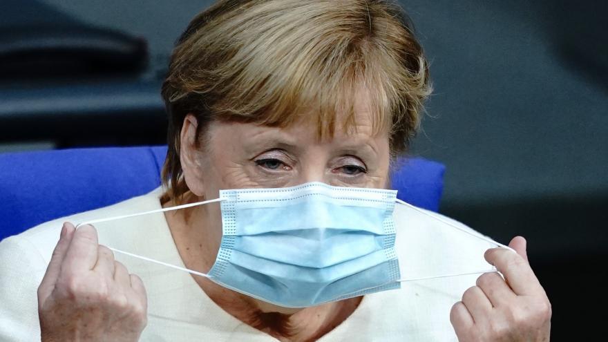 Video Horizont ČT24: Merkelová a koronavirová opatření v Německu
