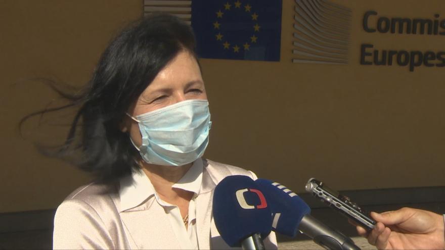 Video Rozhovor s místopředsedkyní Evropské komise Věrou Jourovou