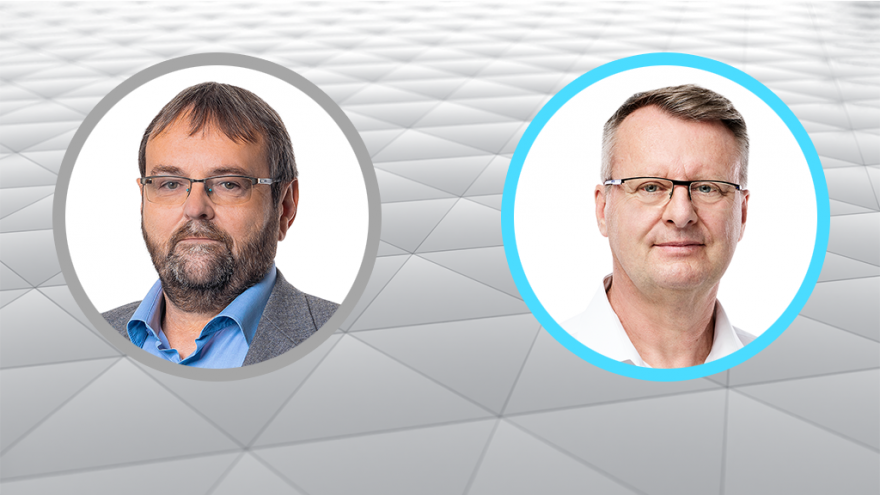 Video Debata postupujících kandidátů do Senátu Pavla Kárníka a Igora Karena