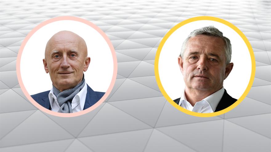 Video Debata postupujících kandidátů do Senátu Iva Valenty a Josefa Bazaly