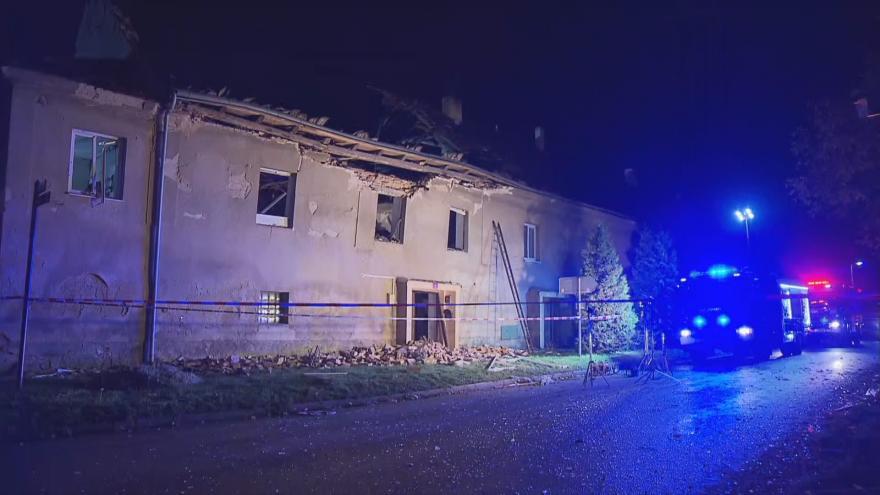 Video Události: Výbuch plynu zničil rodinný dům