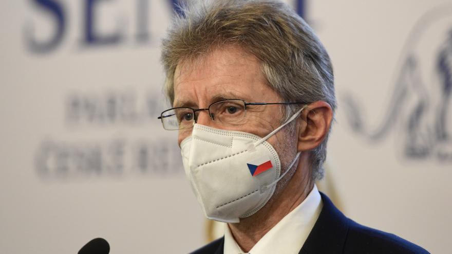 Video Tisková konference předsedy Senátu Miloše Vystrčila po první schůzi v novém složení