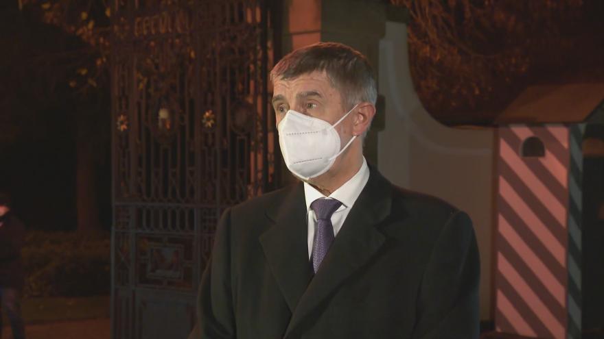 Video Premiér jednal s prezidentem v Lánech