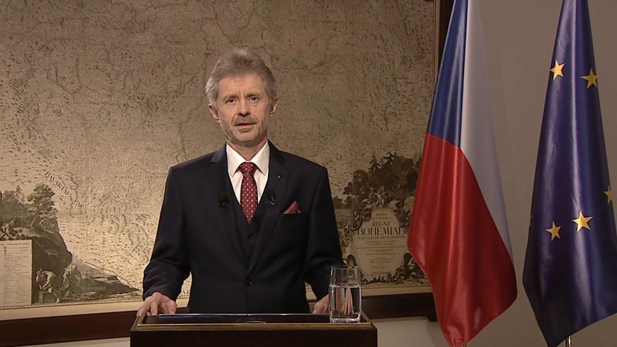 Video Novoroční projev předsedy Senátu Miloše Vystrčila