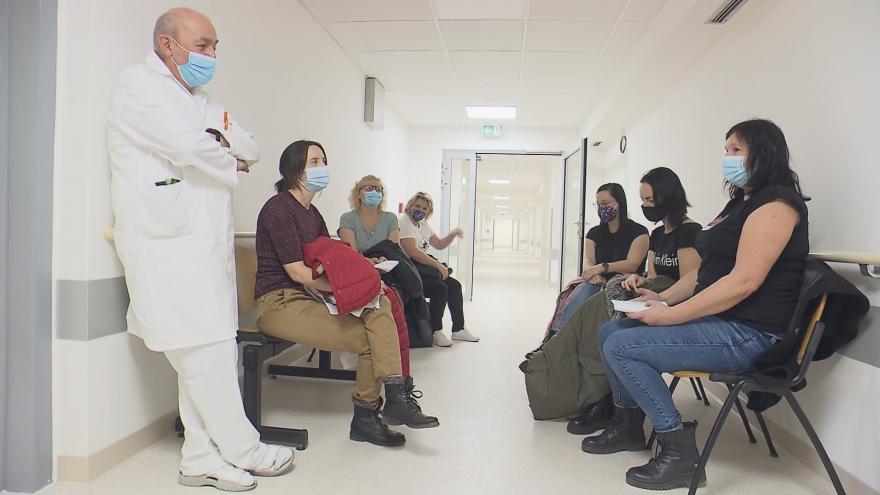 Video Události: Přípravy očkovacích center