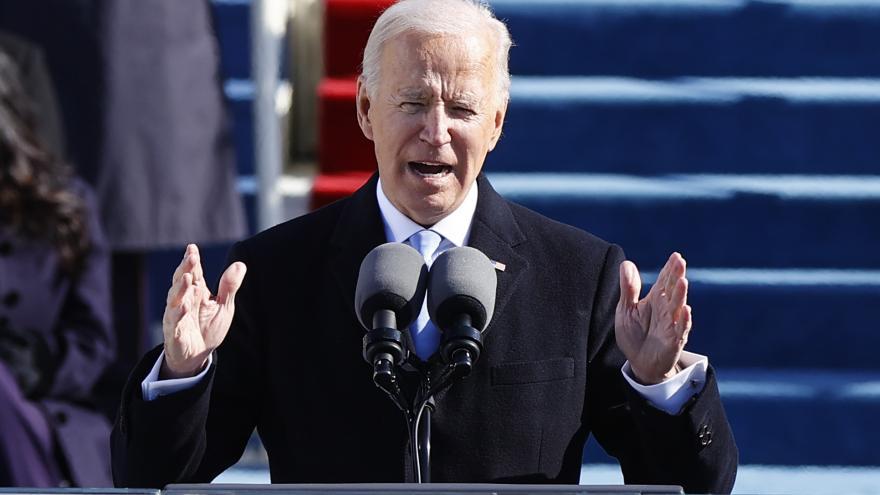 Video Nový americký prezident Biden vyzval v projevu k národní jednotě