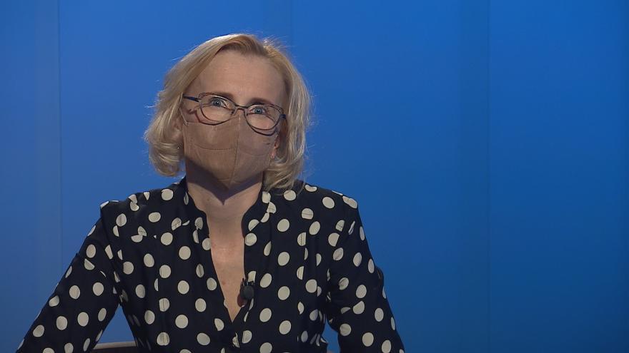 Video Kateřina Konečná byla hostem Interview ČT24